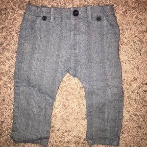 Zara baby 6-9 month tweed baby boy trousers